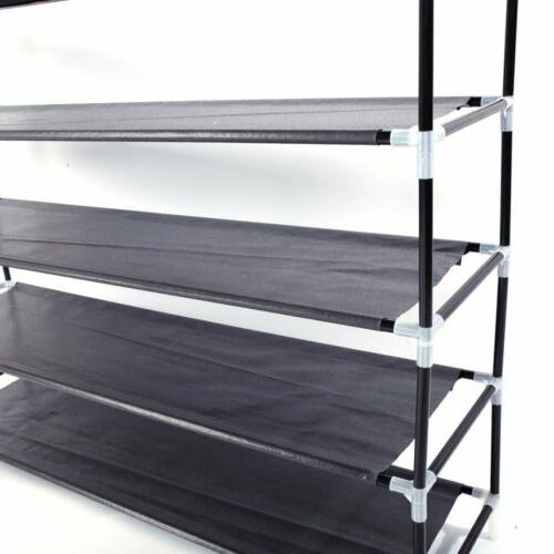 5 Tiers Space Shoe Tower Cabinet Pair