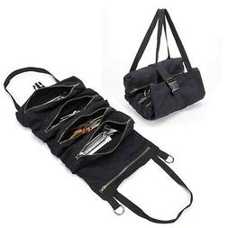 QEES Wrench Organizer with 5 Zipper Tool Bags, Heavy Duty To